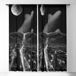 strip down Blackout Curtain