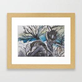 Series 1.1: The Hunt Framed Art Print