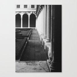 At the Cini Foundation Venice, Italy Canvas Print