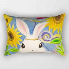 Dreamland Bunny Rectangular Pillow