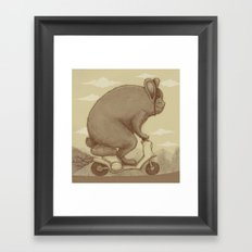 Adventure Ride Framed Art Print
