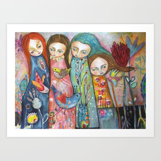 Wonderful Women Art Print