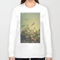 freedom Long Sleeve T-shirts featuring Freedom by Victoria Herrera