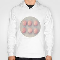 eggs Hoodies featuring Six Eggs by Jessica Torres Photography