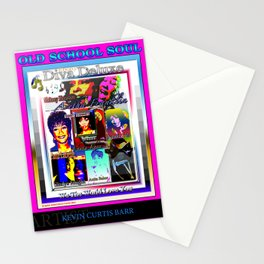 EBONY DIVA DELUXE Stationery Cards
