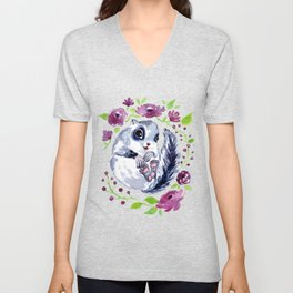 Squirrel<3 Unisex V-Neck