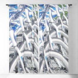 """Resort Bikes"" by Murray Bolesta Blackout Curtain"