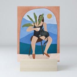 Summer vibes in the city Mini Art Print