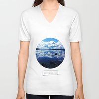 salt water V-neck T-shirts featuring salt water cure by fluidgold