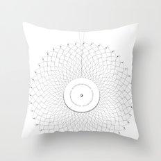 Spirobling X Throw Pillow