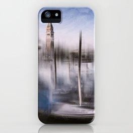 Digital-Art VENICE Grand Canal and St Mark's Campanile iPhone Case