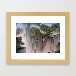 Interference #3 Framed Art Print