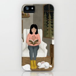 further reading iPhone Case