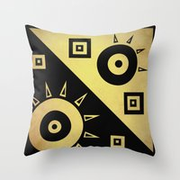 sunshine Throw Pillows featuring sunshine by simay