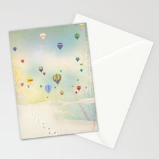 balloon day Stationery Cards