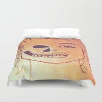 monroe Duvet Covers featuring Monroe  by Zero Two Thirteen
