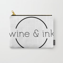 Wine & Ink Carry-All Pouch