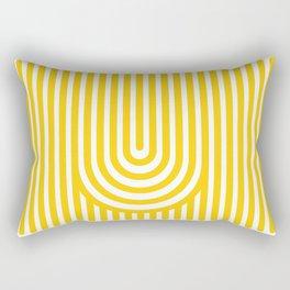 U, Rectangular Pillow