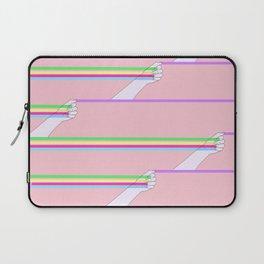 Feminist power pattern Laptop Sleeve