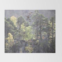 A Dream Pang Throw Blanket