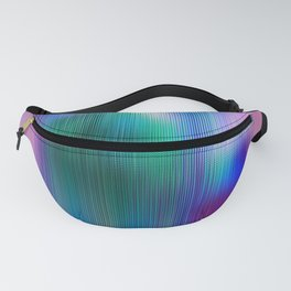 Glitchy Tiles - Abstract Pixel art Fanny Pack
