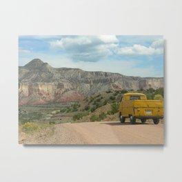 Desert Adventure Photograph Metal Print