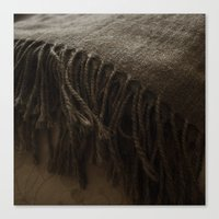 fringe Canvas Prints featuring Fringe by Color Escape