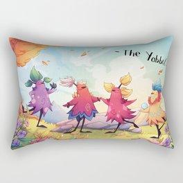 Dancing Yabbuts Rectangular Pillow
