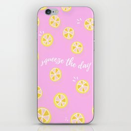 Squeeze The Day   Lemons iPhone Skin