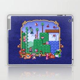 Mario Super Bros, Too Laptop & iPad Skin