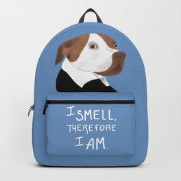 Descartes' Dog - I Smell Therefore I Am Backpack