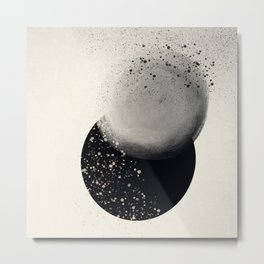 Winter Solstice Modern Art Print Metal Print