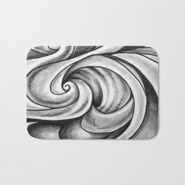 Swirl (Gray) Bath Mat