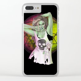 Punk Isn't Dead Clear iPhone Case