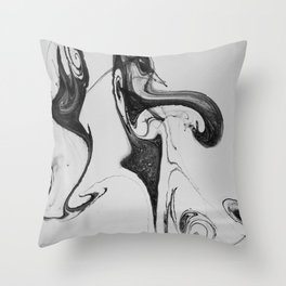 Form Ink No. 24 Throw Pillow