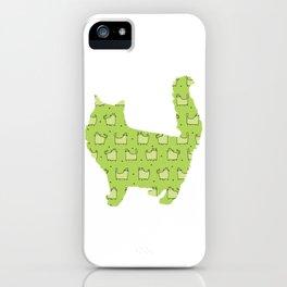 Cat 158 iPhone Case
