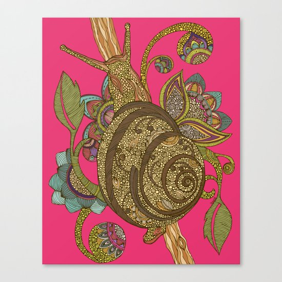 Escargopolooza Canvas Print