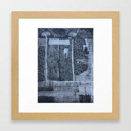 Textured Entry Framed Art Print