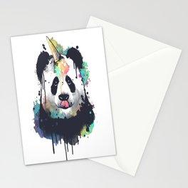 Ice cream pandacorn Stationery Cards