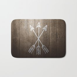 3 Cross Arrows Bath Mat