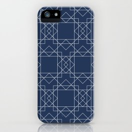 Boho Blues iPhone Case