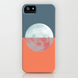 DOUBLE MOON iPhone Case