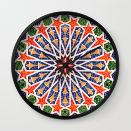 ARTERESTING V47 - Moroccan Traditional Design Wall Clock
