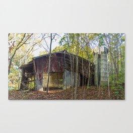 North Carolina Tobacco Barn Canvas Print