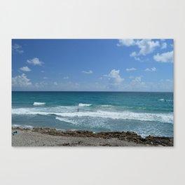 Alone at Sea Canvas Print