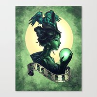 wicked Canvas Prints featuring WICKED by Tim Shumate
