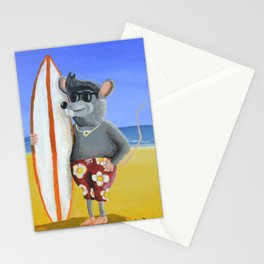Surf Rat Stationery Cards