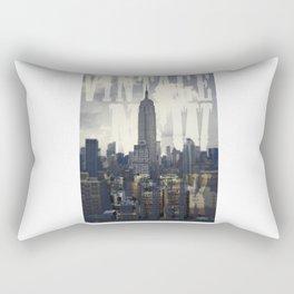 Vintage New York Rectangular Pillow