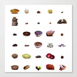Chocoholic Canvas Print