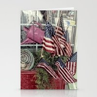patriotic Stationery Cards featuring Patriotic by Colleen G. Drew